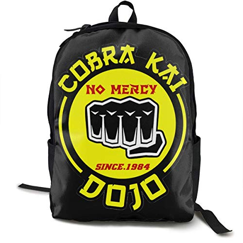 HGHGH Cobra Kai Backpack Laptop Backpack Travel for Women & Men College School Waterproof Computer Bag