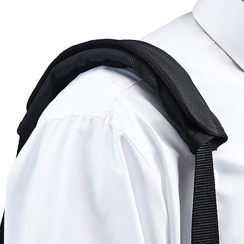 『サンワダイレクト ショルダーパッド 肩パッド 【幅5cmまで取付け可能】 18個エアークッション ファブリック 200-BELT009』の8枚目の画像