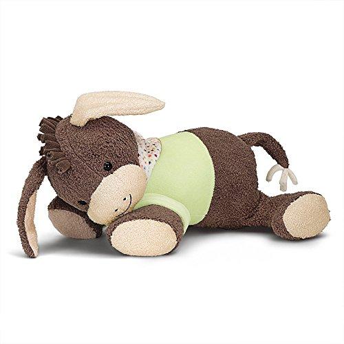 Sterntaler Schlaf-gut Figur Esel Emmi DE 34407560) mit integriertem Herztonmodul, Alter: Für Babys ab der Geburt, 30 cm, Braun