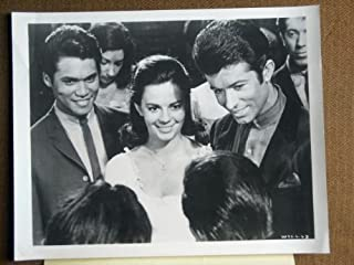GB02 West Side Story WNEW Television Publicity Still. This is a vintage photograph NOT a video or DVD. These vintage photographs were displayed in movie theaters to advertise the film. Lobby cards measure 11 by 14 inches.