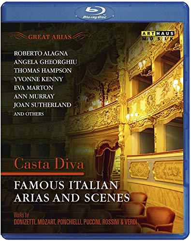 Great Arias - Casta Diva - Famous Italian Arias and Scenes [Blu-ray]