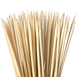 Authentic Bamboo Marshmallow Roasting Sticks, Perfect for S'Mores, Includes 40 Extra Long 30' Bamboo Skewers with 5mm Heavy Duty Thickness, Ideal for Grilling Hot Dogs, Kebabs & More - by Zulay