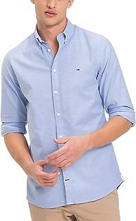 Tommy Hilfiger Men's Slim Fit Stretch Oxford Woven Shirt