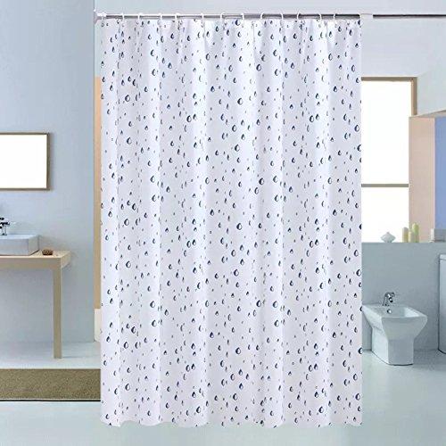 Rideaux de douche Occlusion épaissie salle de bain rideau de douche Rideau de rouille imperméable à l'eau-A 150x200cm(59x79inch)