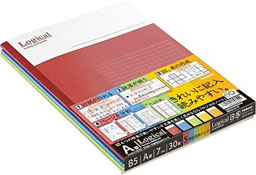 ナカバヤシ『スイング・ロジカルノートB5A罫30枚』