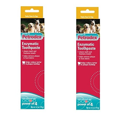 Enzymatic Pet Toothpaste For Dogs  Promotes Strong Teeth amp Healthy Gums 62 oz2 Tubes