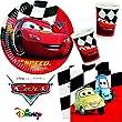 Procos Carpeta 85-TLG. Party-Set   Cars RED   für