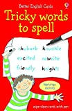 Transfer Test English revision resources Usborne tricky words spelling flashcards