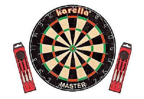 Karella Dartboard Master Dart Board Spiel Dartscheibe Wettkampf