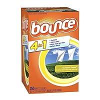 バウンス Bounce 乾燥機用ドライシート 柔軟剤 大容量250枚入り