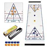 CS COSDDI Shuffleboard And Curling - Gioco da Tavolo, Ideale per divertirsi in Famiglia...