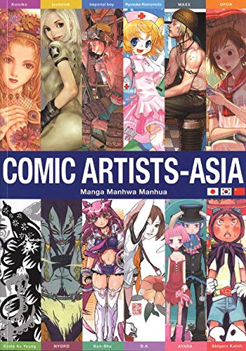Comic Artists - Asia: Manga Manhwa Manhua