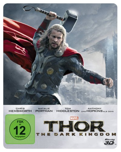 Thor - The Dark Kingdom (Steelbook) (+ Blu-ray 2D) [Blu-ray 3D] [Limited Collector's Edition]