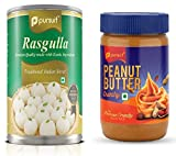 Rasgulla (500 g) & Crunchy Peanut Butter (510 g ) Combo