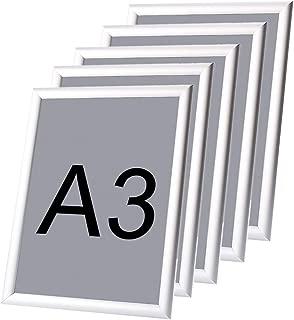 5piezas marco para póster marco de fotos/marco/póster, Marcos de Piñón de pared, DE Aluminio formato A3