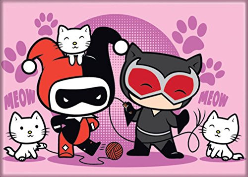 51OEs+TUkdL Harley Quinn Magnets