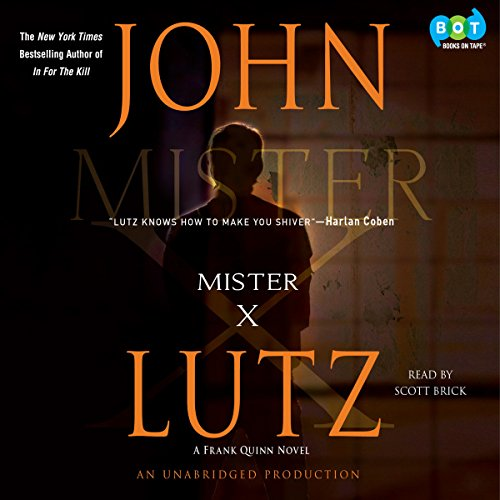 Mister X audiobook cover art