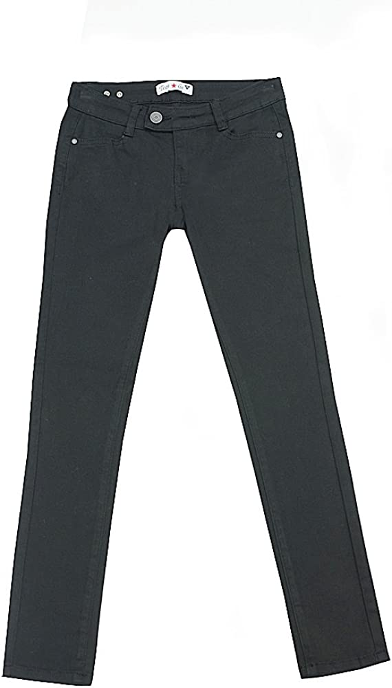 Teen G's Big Girls Max 46% OFF Uniforms Twill Fash Classic Skinny Pants Max 56% OFF with