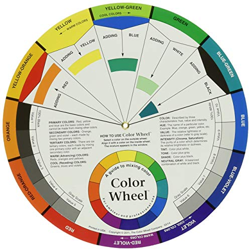 Color Wheel 9.25-inch, Other, Multicoloured, 2.1 x 27.4 x 32.48 cm