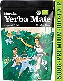 Maraña® Yerba Mate Tee Bio Grün ● 500g lose Blätter ● Premium-Qualität ● Natürlicher Energy Drink ● Matetee ● Grüner Tee
