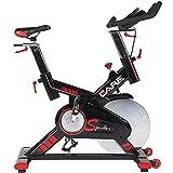 CARE FITNESS - Spider Electronique - Spin Bike - Vélo d'Appartement Spinning - Spin Bike Haut de Gamme - Masse d'Inertie 24 kg - Position Proche Vrai Vélo - Ordinateur Multi Fonctions