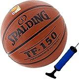 Spalding TF150 - Balón de baloncesto (tamaño 6, incluye bomba de inflado)