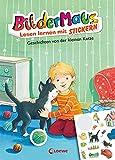 Bildermaus - Lesen lernen mit Stickern - Geschichten von der kleinen Katze: Mit Bildern lesen lernen - Ideal für die Vorschule und Leseanfänger ab 5 Jahre