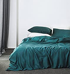 professional Plain duvet cover made of Egyptian cotton Luxurious bed linen set, long fiber satin with many threads …
