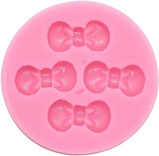 《モモミュゼット》シリコンモールド ミニリボン型 レジン 石膏  アロマストーン  手作り  石鹸   キャンドル  樹脂  粘土  型   抜き型  MD-120036