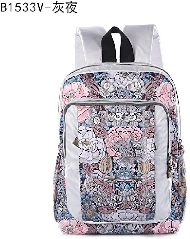 ERLINGSAN-BB Doppel-Schultertasche Wasserdichter Student Rucksack Freizeit Mdchen Tasche