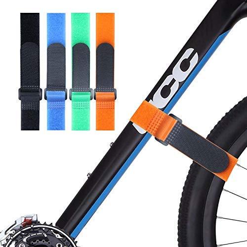 None/Brand 4 Stück Mountainbike-Riemen...