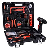 LETTON Power Tools Combo Kit Set with 60 Accessories 16.8V Cordless Drill for Home wireless Repair Kit Tools