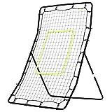 homcom Rete Elastica Rimbalzo da Calcio Rimbalzatore Portatile 90 × 80 × 140cm