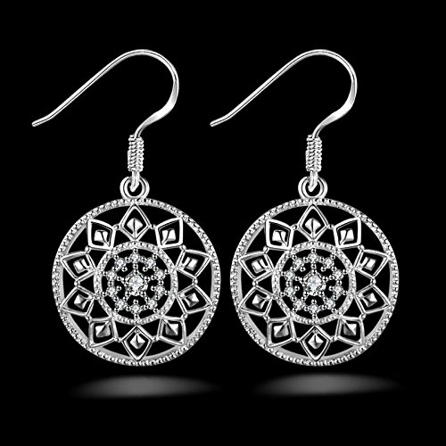 Ecloud Shop® Noble de la Manera Mujeres de la joyería 925