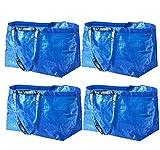 IKEA Frakta Tragetasche für Einkaufstasche, groß, Blau 4 Pcs Set blau