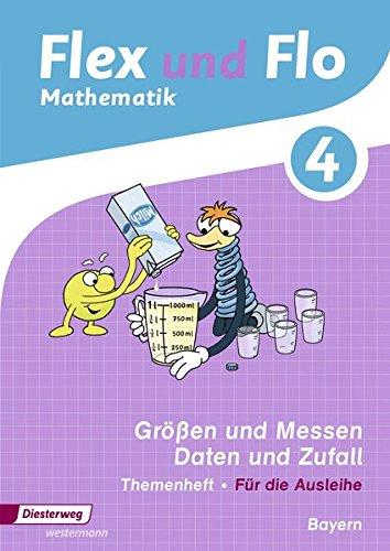 Flex und Flo - Ausgabe 2014 für Bayern: Themenheft Größen und Messen - Daten und Zufall 4