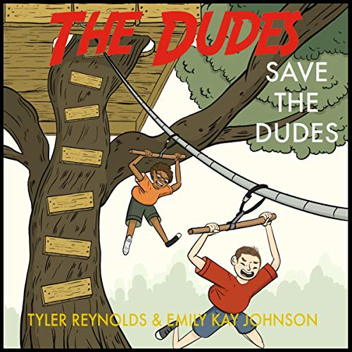 Save the Dudes audiobook cover art