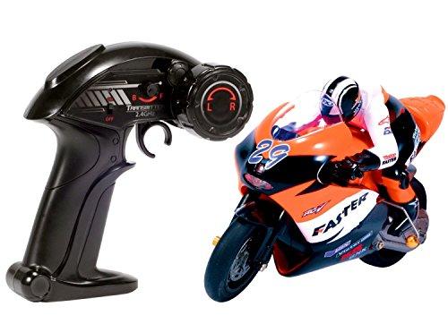 1/10 スケール RC バイク ラジコン 2ch 最大 10台 まで 同時 走行 可能