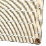 Cosye Tappetini in bambù per Sushi Strumenti da Cucina Fai-da-Te Rullo per arrotolare Sushi Macchina per Il Riso Cibo Giapponese Utensili da Cucina in bambù Naturale