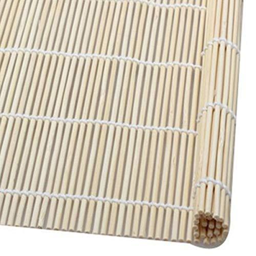 Cosye Bambus Laufband für Sushi DIY Backwerkzeuge Sushi Roller Roller Reismacher Japanisches Essen Natürliche Bambus Küchengeräte
