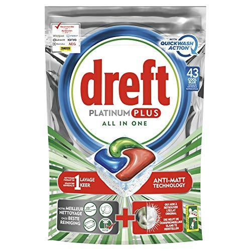 Dreft Platinum Plus Spülmaschinenkapseln 760 g