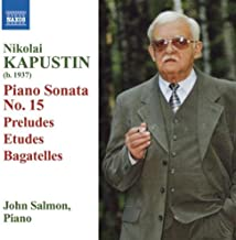 24 Preludes in Jazz Style, Op. 53 (excerpts): Prelude No. 12 in G sharp minor
