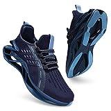incarpo Zapatillas de deporte para hombre, ligeras, transpirables, para correr, para calle., color Azul, talla 42 EU
