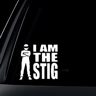 I Am The STIG Car Decal / Sticker