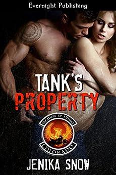 Tank's Property (The Brothers of Menace MC Book 8) by [Jenika Snow]