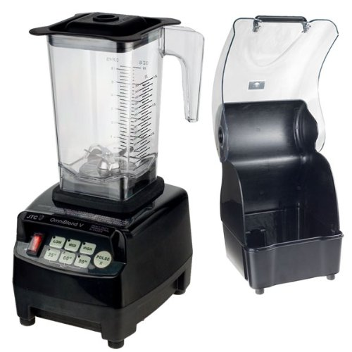Profi Power JTC Mixer Blender Icecrusher 1,5 l mit Edelstahlmesser + JTC Geräuschschutzbox (Model 1800A)