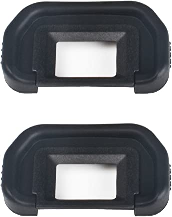 (2 Pack) VKO Eyepiece/Eyecup EB Replacement for Canon EOS 5D Mark II/5D2/5DM2/5D/6D/80D/70D/60D/60Da/50D/40D Camera Viewfinder
