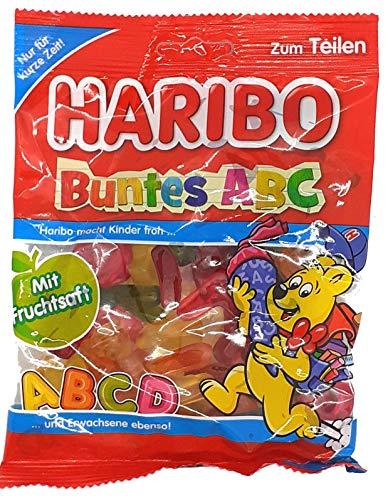 Haribo Buntes ABC 1 x 175g Fruchtgummi Buchstaben