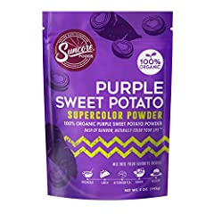 Suncore Foods Purple Sweet Potato Supercolor Powder - 5oz Gluten Free | Non-GMO | No Preservatives | No Added Sugar Suncore Foods Organic Purple Sweet Potato Supercolor Powder has a mildly earthy and nutty flavor that's perfect for bread, cupcakes, a...