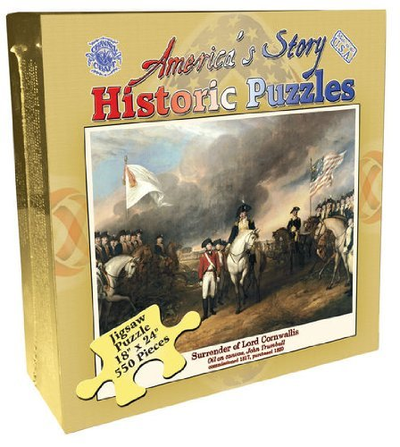 America's Story Historic Puzzle Surrender of Lord Cornwallis